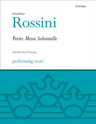 Image for Petite Messe Solennelle: Performing score (Classic Choral Works)