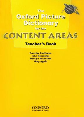 Image for The Oxford Picture Dictionary for the Content Areas Teacher's Book