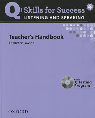 Q: Skills for Success - Listening & Speaking 4: Teacher Book, Freire, Robert; Jones, Tamara