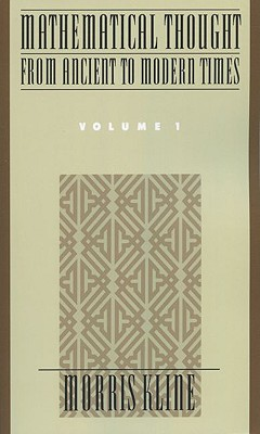 Image for Mathematical Thought from Ancient to Modern Times, Vol. 1
