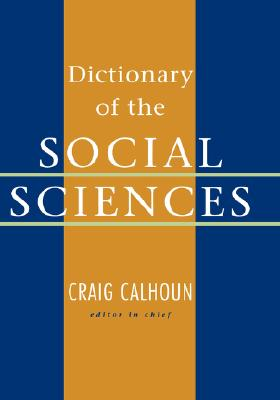 Image for Dictionary of the Social Sciences