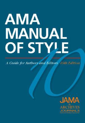 Image for AMA Manual of Style: A Guide for Authors and Editors