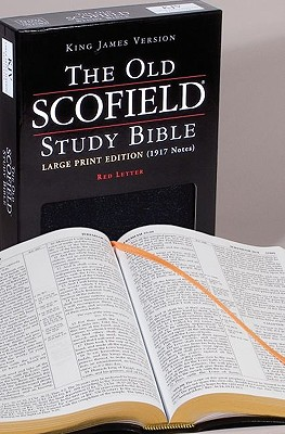Image for The Old Scofield Study Bible, KJV, Large Print Edition (Black Bonded Leather)