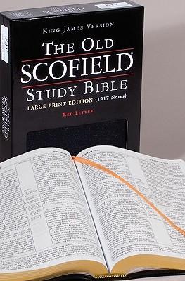 The Old Scofield® Study Bible, KJV, Large Print Edition (Black Bonded Leather), Oxford University Press
