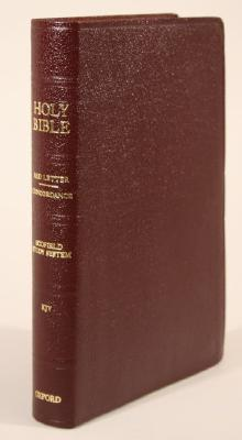 Image for The Old Scofield Study Bible, KJV, Classic Edition