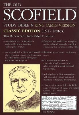 Image for The Old Scofield Study Bible, KJV, Classic Edition (Thumb-Indexed, Navy Bonded Leather)