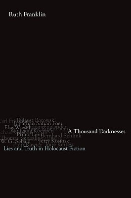 Image for A Thousand Darknesses: Lies and Truth in Holocaust Fiction