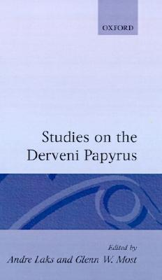 Studies on the Derveni Papyrus