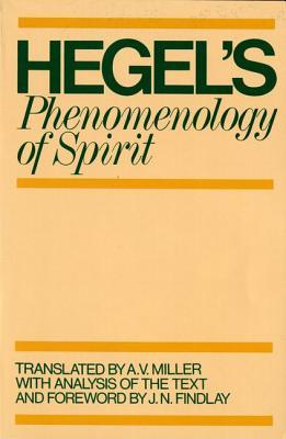 Phenomenology of Spirit, GEORG WILHELM HEGEL FRIEDRICH