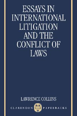 Image for Essays In International Litigation And The Conflict Of Laws
