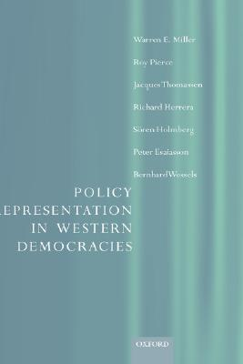 Image for Policy Representation in Western Democracies