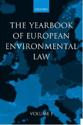 Image for Yearbook of European Environmental Law: Volume 1