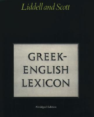 Image for Abridged Greek-English Lexicon