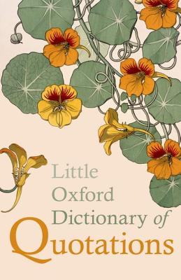 Little Oxford Dictionary of Quotations, Ratcliffe, Susan