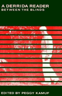 Image for DERRIDA READER, A : BETWEEN THE BLINDS