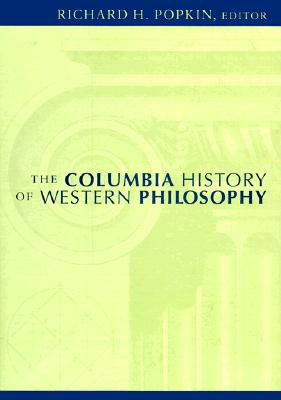 Image for The Columbia History of Western Philosophy