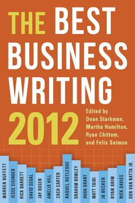 Image for BEST BUSINESS WRITING 2012