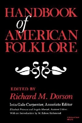 Image for Handbook of American Folklore (A Midland Book)