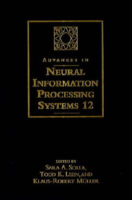 Image for Advances in Neural Information Processing Systems 12