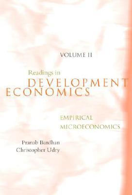 Image for Readings in Development Economics, Vol. 2: Emprical Microeconomics