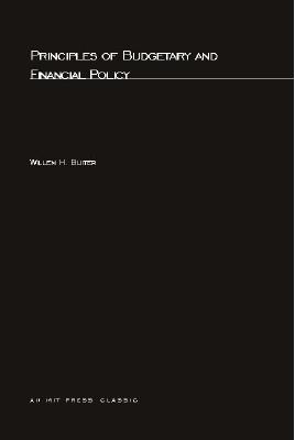 Image for Principles of Budgetary and Financial Policy (MIT Press)