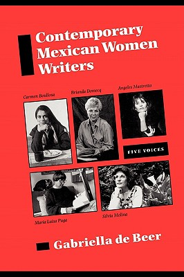 Image for Contemporary Mexican Women Writers: Five Voices (Texas Pan American Series)