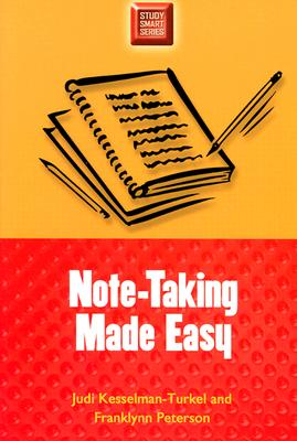 Image for Note-Taking Made Easy (Study Smart Series)