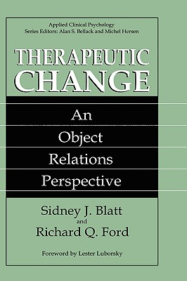Image for Therapeutic Change: An Object Relations Perspective (Nato Science Series B: (closed))