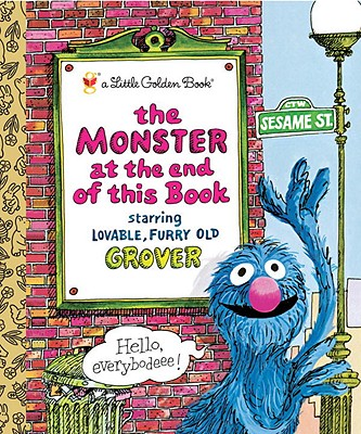 The Monster at the End of This Book (Little Golden Book), Jon Stone