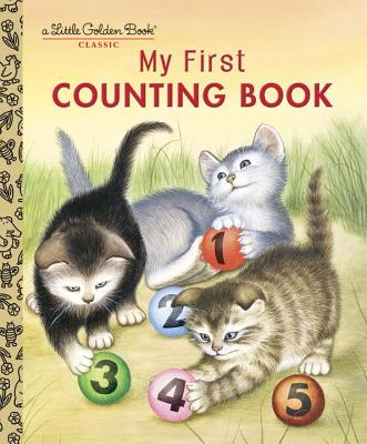 MY FIRST COUNTING BOOK (LITTLE GOLDEN BOOK), MOORE, LILIAN