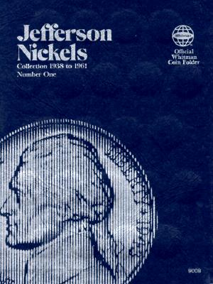 Image for Jefferson Nickels Folder 1938-1961 (Official Whitman Coin Folder)