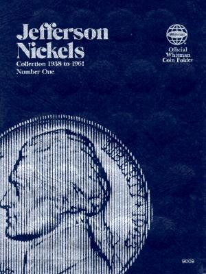Image for Jefferson Nickels Folder 1938-1961 (Official Whitman Coin Folder)