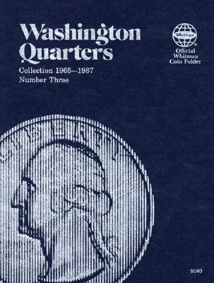 Image for Washington Quarter Folder 1965-1987 (Official Whitman Coin Folder)