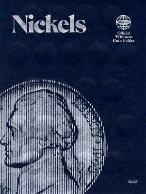 Image for Coin Folders Nickels: Plain (Official Whitman Coin Folder)