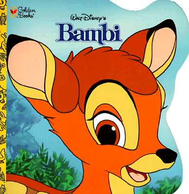 Image for Walt Disney's the Bambi Book (Golden Super Shape Book)