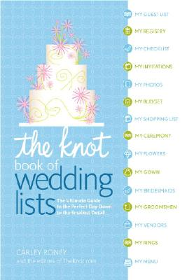 Image for The Knot Book Of Wedding Lists