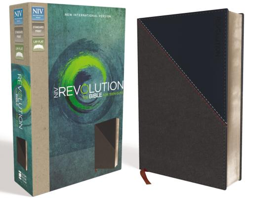 Image for NIV, Revolution Bible, Imitation Leather, Gray/Navy: The Bible for Teen Guys