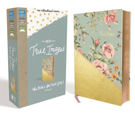 Image for NIV, True Images Bible, Imitation Leather, Blue/Gold: The Bible for Teen Girls