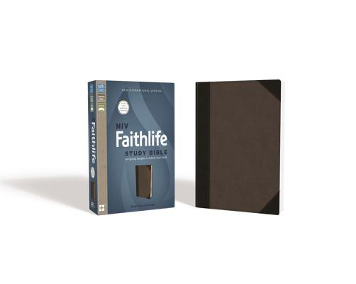 Image for NIV, Faithlife Study Bible (Gray/Black) Indexed