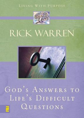 Image for God's Answers to Life's Difficult Questions (Living with Purpose)