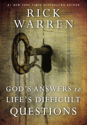 Image for Gods Answers to Lifes Difficult Questions (Living with Purpose)