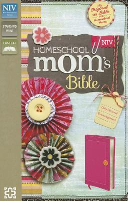 "Image for ""Homeschool Moms Bible (NIVDevotional,Hot Pink Italian Duo-Tone, Gilded-Silver Page Edges)"""