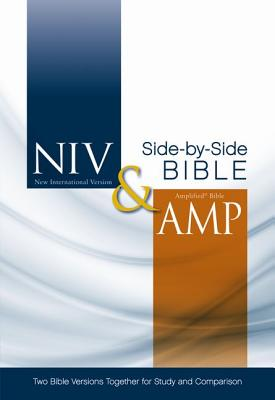 """Image for """"NIV and Amplified Side-by-Side Bible, Hardcover, Jacketed Printed"""""""