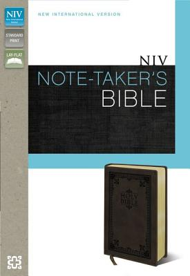 "Image for ""Note-Takers Bible (NIV, Brown Italian Duo-Tone)"""