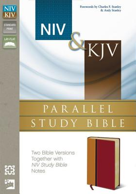 NIV and   KJV Parallel Study Bible: Two Bible Versions Together for Study and Comparison, Zondervan