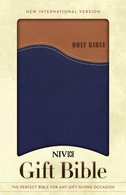 "Image for ""Gift Bible (NIV, TanBlue Italian Duo-Tone)"""