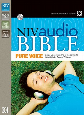 "Image for ""NIV, Audio Bible, Pure Voice, Audio CD"""