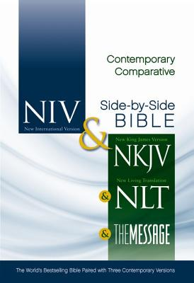 """Image for """"Contemporary Comparative Side-By-Side Bible: New International Version, New Living Translation, New"""""""