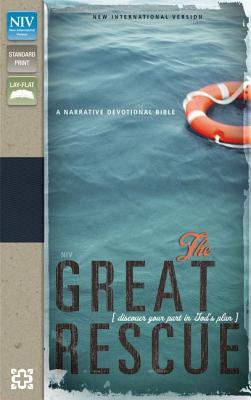 "Image for ""The Great Rescue (NIV, Text, Deep SeaTan Italian Duo-Tone)"""