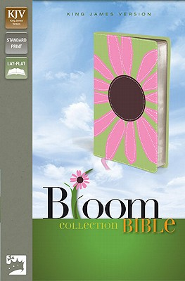 "Image for ""''KJV Thinline Bloom Collection Bible (KJV, Text, Pink Daisy Italian Duo-Tone)''"""